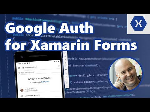 How to add Google Login and Auth to Xamarin Forms