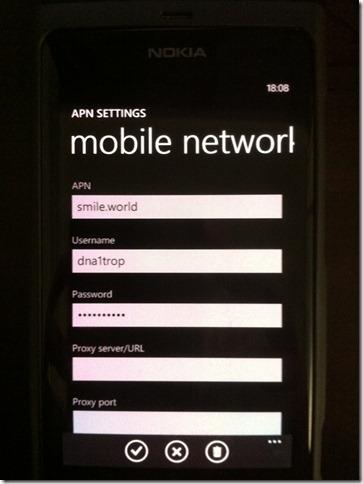 Nokia Lumia 520 Settings