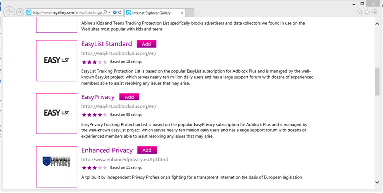 adblock internet explorer 11  free