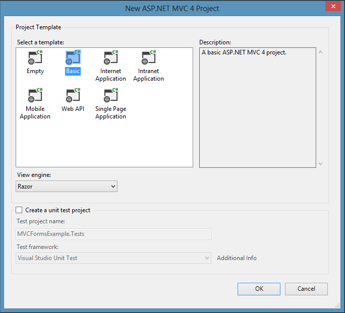 ASP.NET MVC Basics Part 1: View Model Binding