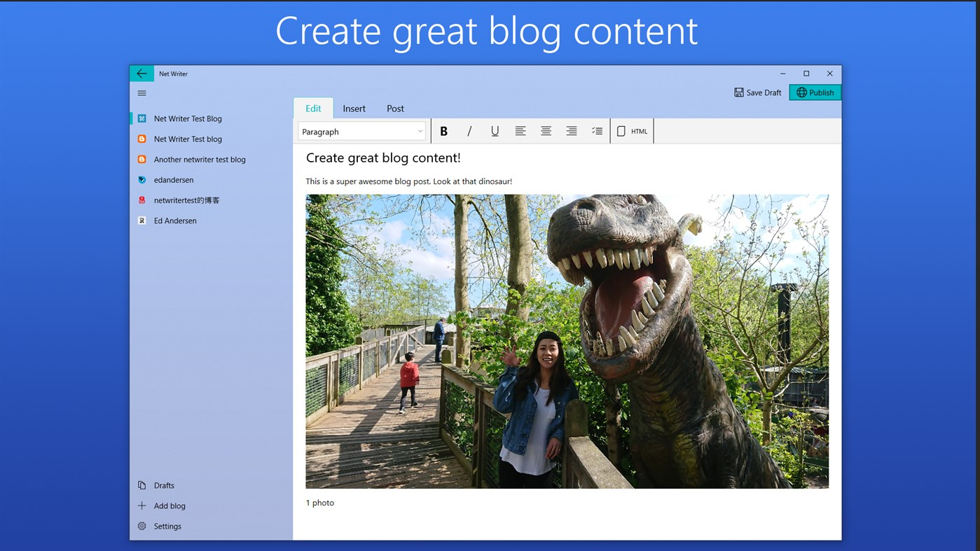 Preview image for Net Writer